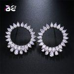 Be 8 Brand 2018 New Design Romantic <b>Jewelry</b> AAA Cubic Zirconia Sun Flower Stud Earrings for Women <b>Wedding</b> <b>Jewelry</b> E500