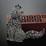 Big Size Cat Animal Brooch For Women Fashion <b>Jewelry</b> <b>Antique</b> Gold Vintage Rhinestone Hijab Accessories Broches Birthday Gifts