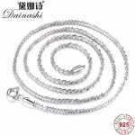 Dainashi High Quality Sterling <b>Silver</b> Chains For Women,Fashion Solid <b>Silver</b> Cauliflower Chain <b>Necklace</b> Anti Allergic Jewelry