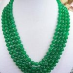 Selling <b>Jewelry</b>>>> Beautiful 8mm Green Chalcedony Necklace Rope Chain Beads Fashion <b>Jewelry</b> <b>Making</b> Design Natural Stone Ornament
