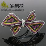 Hair Accessory Wedding Headdress Crystal Hairpin Butterfly Rhinestone Women Bride Gifts <b>Jewelry</b> <b>Making</b> Design Gifts Wholesale