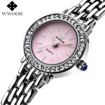 Top Brand Women's Quartz <b>Bracelet</b> Watch Women Dress Watches Ladies <b>Silver</b> Casual Wrist Watch Female Small Clock Relogio Feminino