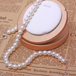 2017 New Fashion <b>Necklace</b>,Natural Freshwater Pearl <b>Necklaces</b>,10mm AAA Freshadama Sharp Luster Pearl Neckless Women men <b>Jewelry</b>