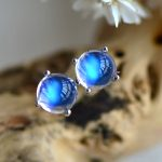 2018 New Hot Sale Women Wedding Nepal 925 <b>Sterling</b> Inlaid Natural Moonstone Lovely Earrings,nepal Vintage <b>Jewelry</b> Gift For Lady