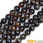 8mm Dreamlace Natural Blue Red Mixed Color Tiger Eye Stone Beads DIY Loose Beads For <b>Jewelry</b> <b>Making</b> Strand 15 Inch Wholesale