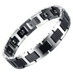 LITTLE FROG New <b>Fashion</b> Men <b>Jewelry</b> Healthy Energy Magnet Bracelet With Tungsten Magnetic Hematite Charm Bracelets Bangles