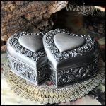 <b>Fashion</b> European Style Metal <b>Jewelry</b> Case Zinc-aloy Trinket box Christmas Gift Packing Necklace Package <b>jewelry</b> display Z021