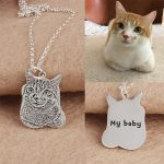 Shuangshuo Unique 925 Sterling <b>Silver</b> Jewelry Personalized Custom Pet <b>Necklace</b> for Women Animal <b>Necklaces</b> & Pendants Accessories