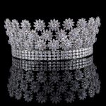 Full AAA Zircon Bridal Crown Flower Bride Hair <b>Jewelry</b> Crystal Tiara Princess Crown <b>Wedding</b> Hair Accessories hair <b>jewelry</b>