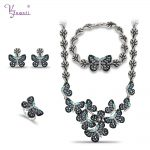 African Big <b>Jewelry</b> Sets Women <b>Jewelry</b> <b>Necklace</b> Best Quality Butterfly Bridal High Quality Fashion Jewery Gold <b>Jewelry</b> Butterfly