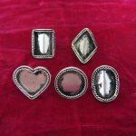 Guizhou Miao <b>handmade</b> <b>jewelry</b> Miaoyin diy ring Miao Embroidery Accessories
