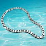 925 sterling <b>silver</b> men necklace.genuine solid pure <b>silver</b> men <b>jewelry</b> fashion,Wide version 12.5mm men chain necklace