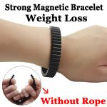 black permanent rare earth neodymium magnets strong magnetic Germanium therapy health watchband for man punk <b>jewelry</b> SMB1001