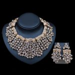 2017 LAN PALACE turkish <b>jewelry</b> sets bridal necklace and earrings austrian crystal necklace african <b>jewelry</b> set free shipping