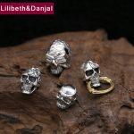 2017 Buddha Men Women Pendant 925 Sterling <b>silver</b> Jewelry Creative Skull natural stone <b>Necklace</b> Pendant Gift Fine Jewelry FP6