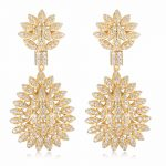 GrayBirds New Luxury Fashion Earring <b>Make</b> Used Copper With AAA Cubic Zirconia Women <b>Jewelry</b> For Wedding MLE021