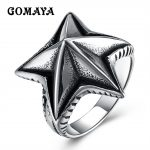 GOMAYA Fashion <b>Jewelry</b> Sea Star Starfish Shape Men Vintage Punk Rock Ring <b>Antique</b> Gothic Magic <b>Jewelry</b> Anillos