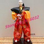 30cm Samurai Japanese humanoid Doll Restaurant <b>supplies</b> gift <b>jewelry</b> ornaments Home Furnishing Restaurant #3600