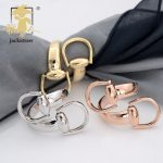 JACKSTRAW copper Horseshoe buckle scarf buckle clip high quality scarf brooch <b>jewelry</b> environmental protection No hook silk