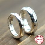 s925 sterling <b>silver</b> ring personalized classic fashion couple style life 1314 modeling retro minimalist hipster <b>jewelry</b>
