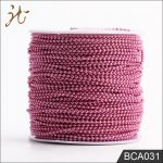 100 Meters 2.4mm Customized Color Bead Ball Chain Spool DIY Accessories wholesale color bead chain for <b>Jewelry</b> DIY <b>making</b>