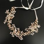 Crystal Sparking Bridal Headpiece <b>Handmade</b> Floral Hair Vine Headband Crown Pearls Beading Wedding Tiara Elegant Hair <b>Jewelry</b>