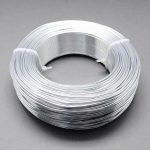 2mm Aluminum Wire <b>Jewelry</b> Findings for <b>Jewelry</b> <b>Making</b> DIY , about 50m/roll