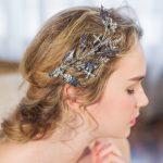 Floristic Crystal <b>Handmade</b> Tiaras Gold Leaves Hair <b>Jewelry</b> Retro Bridal Hair Accessories Best Head Piece Hair Pins Wholesale