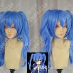 100% Brand New High Quality <b>Fashion</b> Picture wigs>>>Kagerou Project Enomoto Takane Ene Blue Cosplay Anime Lolita Wig Ponytail HA0