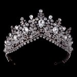 Baroque Crown <b>Wedding</b> Tiara Vintage Bridal Hair Accessories Hair <b>Jewelry</b> Alloy Tiaras Beauty Royal Crown Headband