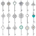 High quality brand <b>jewelry</b> 925 sterling silver enamel key <b>necklace</b> Pendant wedding jewel <b>necklace</b>