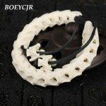 BOEYCJR 100% Thailand Natural Snake Bone Bangles & Bracelets Ethnic Vintage <b>Jewelry</b> Energy Bracelet For Women or Men Gift 2018