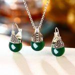 925 Sterling <b>Silver</b> Jewelry Pendant Red <b>Earrings</b>