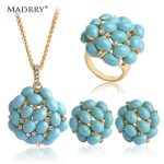 Luxurious Dubai <b>Jewelry</b> Sets <b>Necklace</b>&Earrings&Ring Gold Color Crystal Aros Aretes Bijoux Wedding Party <b>Jewelry</b>
