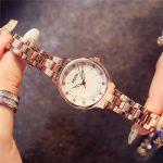 KEZZI Women Wristwatch 2018 Luxury Brand Rhinestone White Dial Casual Ladies Clock <b>Silver</b> Rose Gold <b>Bracelet</b> Dress relojes mujer