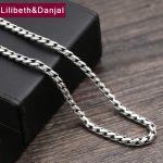 2017 925 <b>Sterling</b> Thai <b>silver</b> Vinage Necklace Men Dragon Bone Pendant Rope Chain Necklace women Gift Fine <b>Jewelry</b> N26
