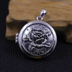 The character of silver silver S925 silver <b>jewelry</b> wholesale <b>handmade</b> Photo Box Pendant