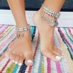 1Pair Hight Quality 2016 Fashion Gold Silver Gypsy <b>Antique</b> Silver Turkish Coin Anklet Beach Foot <b>Jewelry</b> Ethnic Tribal Festival