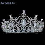 Full AAA CZ Tiaras Crowns Bridal <b>Wedding</b> Hair Accessories <b>Jewelry</b> Birthday Party Crown Headpece TR15083