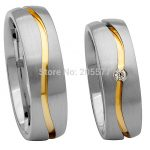 high end custom size Matching Promise Rings <b>jewelry</b> <b>wedding</b> band rings sets for both him and her