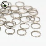 5/6/7/8mm Stainless Steel Jump Rings for <b>Jewelry</b> <b>Necklace</b> Bracelet DIY Accessories Findings, Double Loops, Stainless Steel