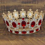 Gorgeous Large Crystal Baroque <b>Wedding</b> Bridal Tiaras and Crowns Headpiece Women Diadem <b>Wedding</b> Bride Hair <b>Jewelry</b> Accessories