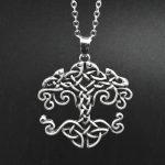 MCSAYS Viking <b>Jewelry</b> The Genesis of the Bible Life Tree Pendant <b>Antique</b> Viking Necklace Mens Fashion Accessories 4SL