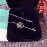 Classic Brand Pure 925 Sterling Silver <b>Jewelry</b> For Women Key Pendant 55mm Cute Key Rose Gold Necklace <b>Wedding</b> Engagement <b>Jewelry</b>