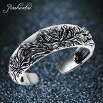 JIASHUNTAI Retro 990 <b>Sterling</b> <b>Silver</b> Bangles For Women Peony Flower Vintage <b>Silver</b> <b>Jewelry</b> Female Handmade Opening