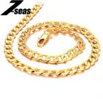7SEAS Korean gold color necklace new arrival overlord chain for men <b>jewelry</b> JM441