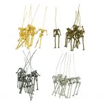 24 Pieces Human Shape Skeleton Body DIY Dolls Pendant For <b>Jewelry</b> <b>Making</b> Craft Girls Charms Findings Doll