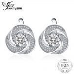 JewelryPalace luxury 2ct Cubic Zirconia Hoop Earrings Soild 925 Sterling Silver <b>Jewelry</b> <b>Fashion</b> Earrings For Women Birthday Gift