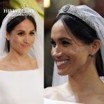 HIMSTORY Luxury Full CZ Meghan Princess Wedding Bridal Tiara Crown Women Rhinestones Diadem Hair Accessories <b>Jewelry</b>