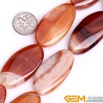 22x40mm & 30x40mm Oval Shape agt Beads Natural Stone Beads For <b>Jewelry</b> Making Strand 15″ Wholesale !